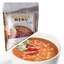 EXPRES MENU - Polévka Rajská s rýží - 2 porce (600g)