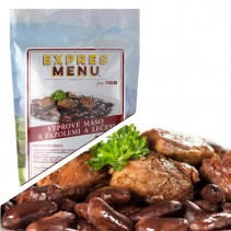 EXPRES MENU - Vepřové maso s fazolemi a lečem - 1 porce