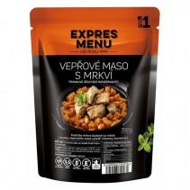 EXPRES MENU - Vepřové maso s mrkví - 1 porce (300g)