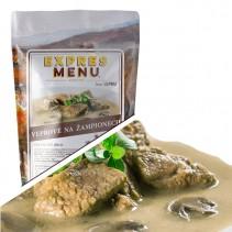 EXPRES MENU - Vepřové na žampionech - 2 porce (600g )