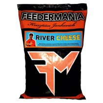 FEEDERMANIA - Groundbait RIVER CHEESE 2,5kg