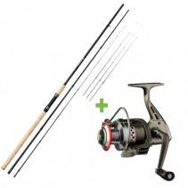 GIANTS FISHING - Prut Fluent Feeder XT 3,3m 11ft Medium + Naviják SPX 3000 FD ZDARMA!