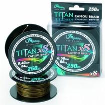 FILFISHING - Sumcová šňůra Titan Camou Braid 250m
