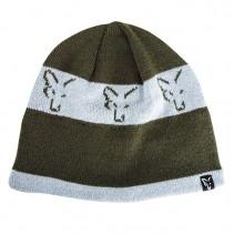 FOX - Čepice Green Silver Beanie