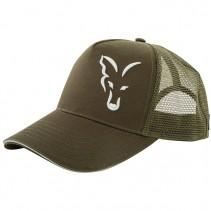 FOX - Kšiltovka Trucker Cap Green Silver