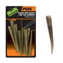 FOX - Převleky Edges Power Grip Naked Line Tail Rubbers vel.7 10ks