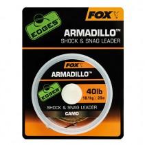 FOX - Šoková šňůra Armadillo Camo 20m
