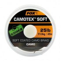 FOX - Ztužená návazcová šňůrka Edges Camotex Soft 20m
