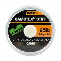 FOX - Ztužená návazcová šňůrka Edges Camotex Stiff 20m
