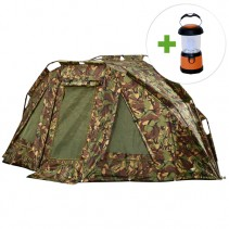 GIANTS FISHING - Bivak Specialist Camo Bivvy 2 Man + LED lampa ZDARMA!