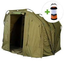GIANTS FISHING - Bivak XL Dome Bivvy 2-3 Man + LED lampa ZDARMA!