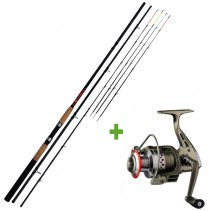 GIANTS FISHING - Prut CLX Feeder TR 3,3m 90g Medium + Naviják SPX 3000 FD ZDARMA!