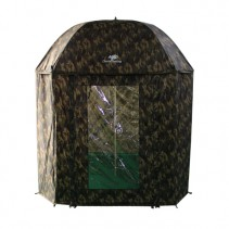 GIANTS FISHING - Deštník Full Cover Square Camo Umbrella 250cm