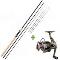 GIANTS FISHING - Prut Fluent Feeder XT 3,6m 100g Medium + Naviják SPX 3000 FD ZDARMA!