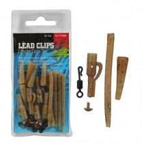 GIANTS FISHING - Kompletní sada na boční olovo Lead Clips Complet Camo Set