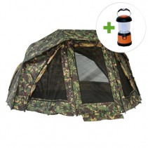 GIANTS FISHING - Umbrella Brolly Exclusive Camo 60 + LED lampa ZDARMA!