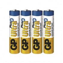 GP BATTERIES - Alkalická baterie GP Ultra Plus LR03 (AAA) 4ks