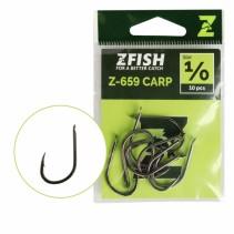ZFISH - Háčky s lopatkou a protihrotem Carp Hooks Z-659