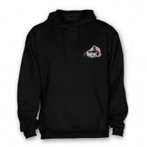 HELL-CAT - Mikina klokánek s kapucí černá