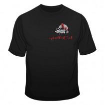 HELL-CAT - Tričko Classic černé