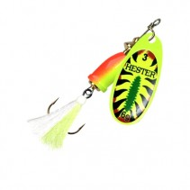 HESTER FISHING - Rotační třpytka Bell Fly Fire Shark W Green/White