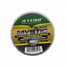 JET FISH - Návazcová šňůra Black Mystic 20m 25lb