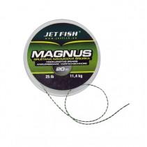 JET FISH - Splétaná návazcová šňůrka Magnus 11,4kg 20m