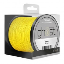 DELPHIN - Potápivá kaprařská šňůra GHOST 8+1 žlutá 300m