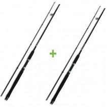 NGT - Prut Carp Stalker Rod 2,4m 2lb Black AKCE 1+1 ZDARMA!