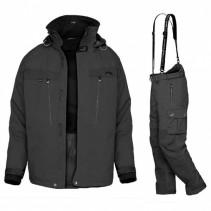 GEOFF ANDERSON - Komplet bunda DOZER 5 + Kalhoty URUS 5 - černá