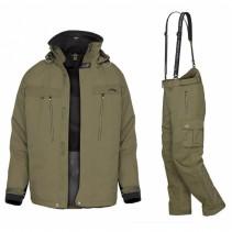 GEOFF ANDERSON - Komplet bunda DOZER 5 + Kalhoty URUS 5 - zelená