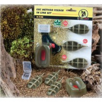 EXTRA CARP - Krmítko Method Feeder Set 20,25,30g + formička