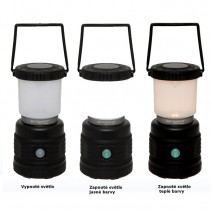 SILVERPOINT OUTDOOR - Lampa Starlight 1000 RC dobíjecí