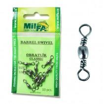 MILFA - Obratlík Barrel Swivel Classic