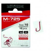 MIVARDI - Červený háček s lopatkou a protihrotem M-725