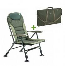 MIVARDI - Křeslo Comfort Quattro + Transportní taška