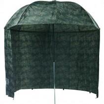 MIVARDI - Deštník Camou PVC s bočnicemi 2,5m
