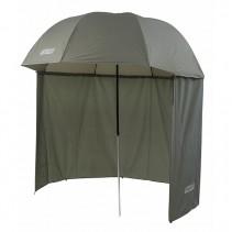 MIVARDI - Deštník s bočnicemi Green PVC 2,5m