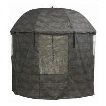 MIVARDI - Kompletně zakrytý deštník PVC - Camou