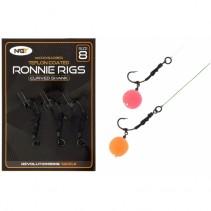 NGT - Montáž Ronnie Rig & Teflon Hooks 3ks