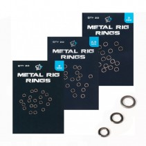 NASH - Kroužky Metal Rig Rings 20ks