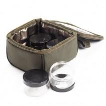 NASH - Pouzdro Hookbait Pouch Four Pot