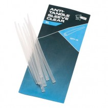 NASH - Převleky proti zamotání XL Anti Tangle Sleeve Clear 15ks