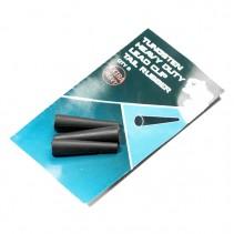 NASH - Převleky Tungsten Heavy Duty Lead Clip Tail Rubber 8ks