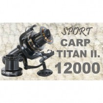 SPORTS - Naviják CARP TITAN II 12000 - Dvojbrzdový