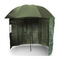 NGT - Deštník s Bočnicí Brolly Side Green 2,2m