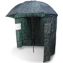 NGT - Deštník s bočnicí kamuflážní 2,2m
