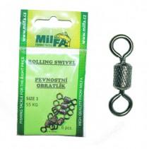 MILFA - Obratlík pevnostní Rolling Swivel