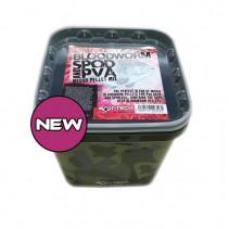 BAIT-TECH - Peletový Mix Bloodworm Spod & PVA Micro Pellet 2,5kg
