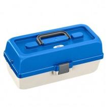 PLASTICA PANARO - Rybářský kufřík 118/ 2-patrový bílo-modrý